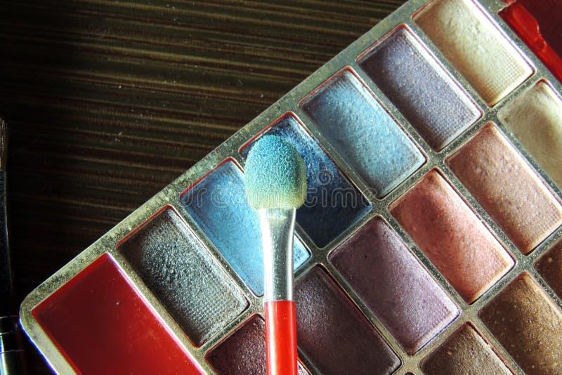 化妆用品 眼影 库存照片