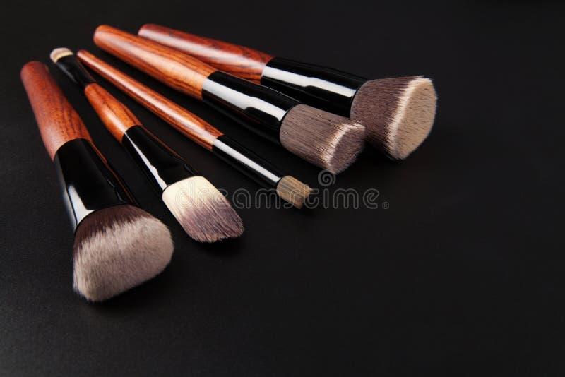 化妆画笔 免版税库存照片