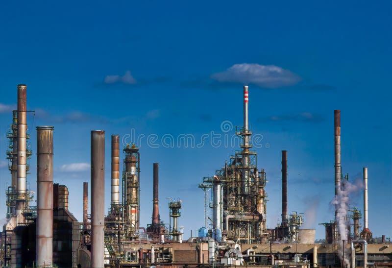 2011化学制品可以傲德萨工厂乌克兰 免版税库存照片