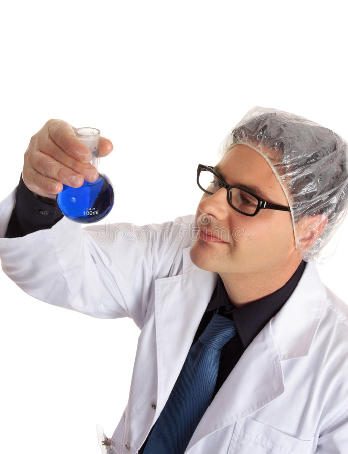 化学家科学家 免版税库存照片