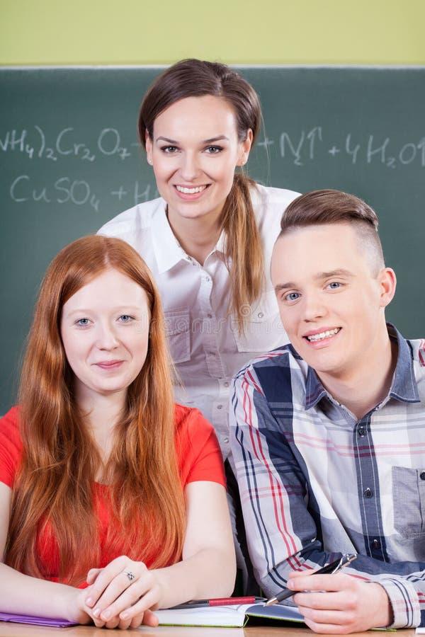 化学教训 库存图片