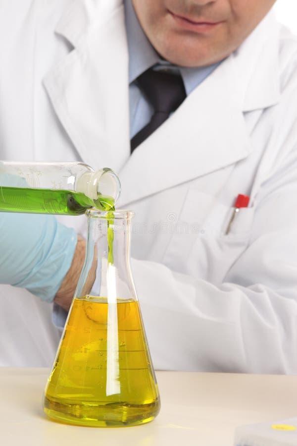 化学科学 库存照片