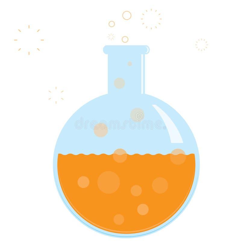 化学 皇族释放例证