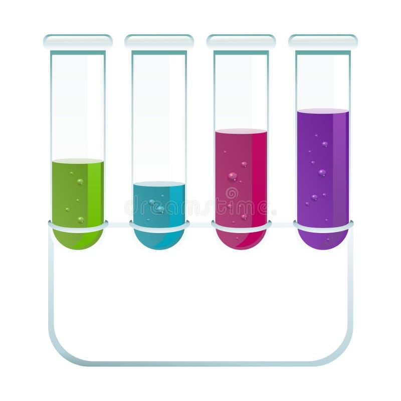 化学 向量例证