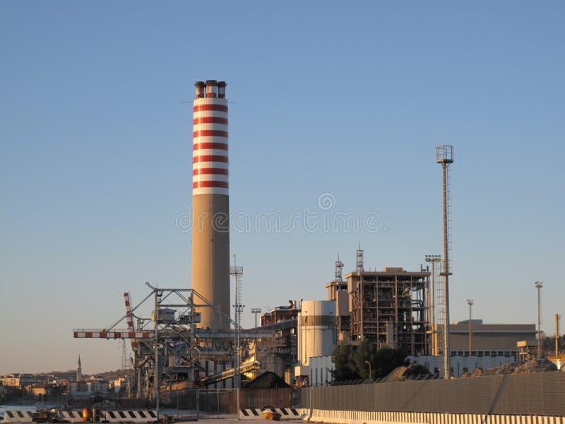 化工厂 免版税库存图片