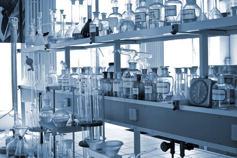 化工实验室 免版税库存照片