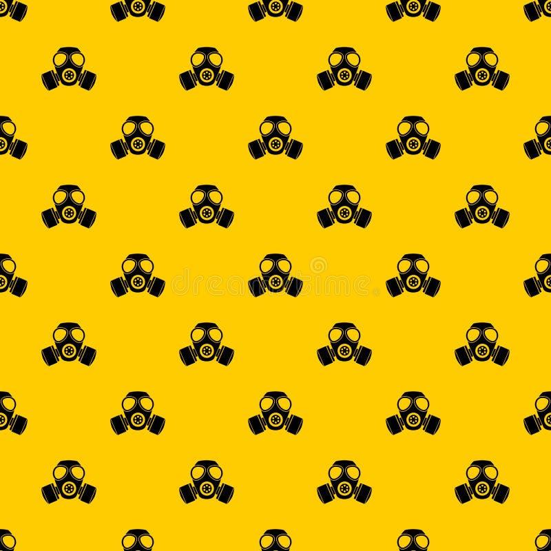 化工防毒面具样式传染媒介 库存例证