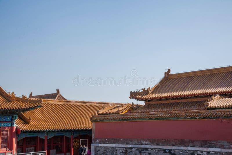 北京博物馆国民宫殿 图库摄影