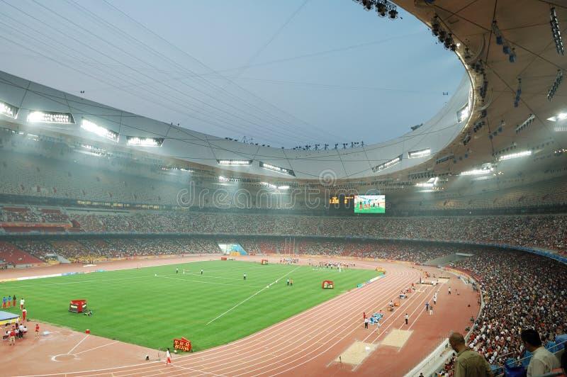 北京国民体育场 库存照片