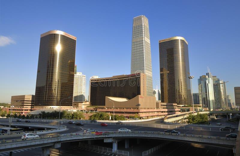 北京地平线 库存照片
