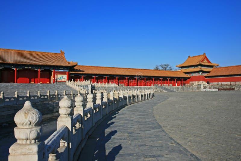 北京城市禁止的历史 免版税图库摄影