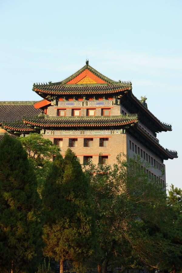 北京塔楼 库存图片