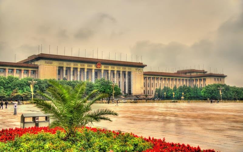 北京大厅人 图库摄影
