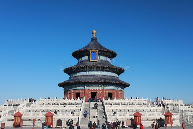 北京天坛公园寺庙 免版税库存图片