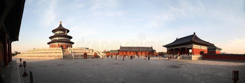 北京天堂寺庙 免版税库存照片