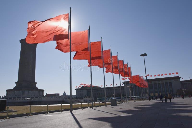 北京方形天安门 免版税图库摄影
