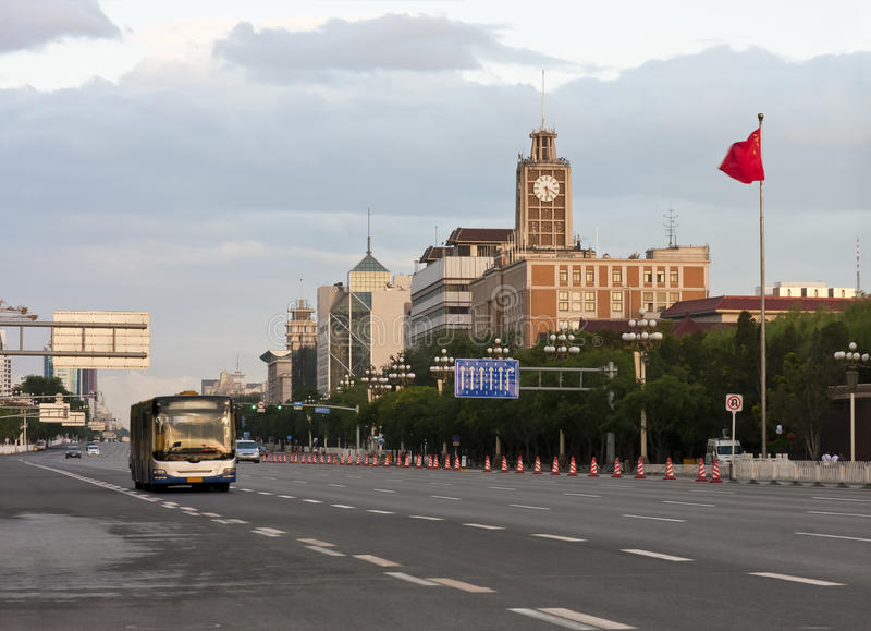 北京早晨 库存图片
