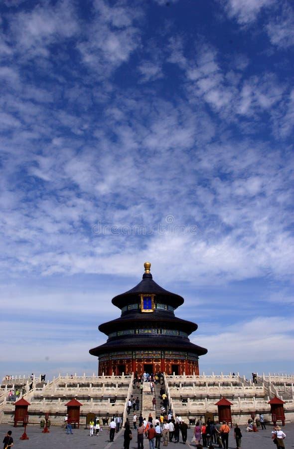 北京棕褐色tian 库存照片