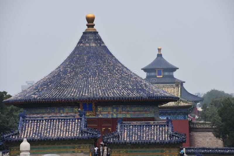 北京瓷天堂寺庙 图库摄影