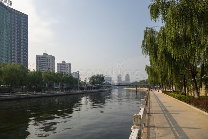 北京瓷 堤防 免版税库存图片
