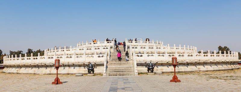 北京的著名天坛公园在中国 免版税库存照片
