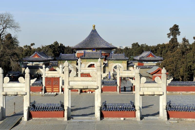 北京禁止的瓷城市 免版税图库摄影