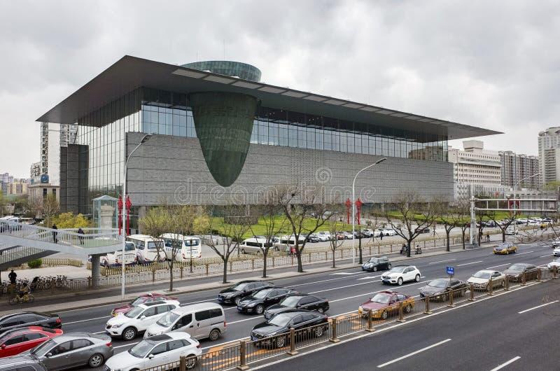 北京资本博物馆 图库摄影