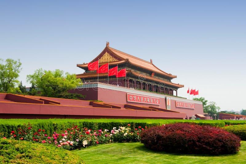 北京门天堂般的和平 库存照片