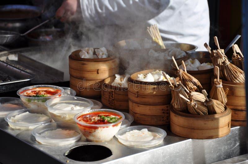北京食物市场 图库摄影