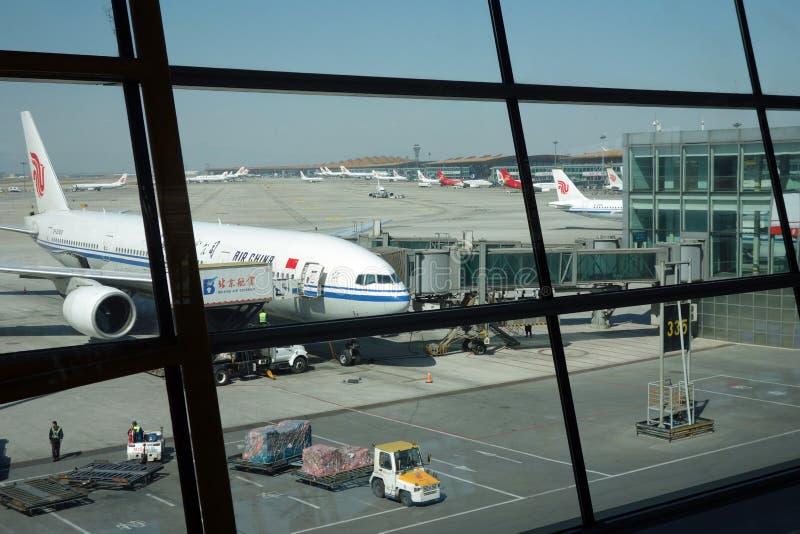 北京首都国际机场T3 库存照片