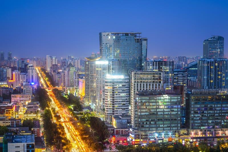 北京,中国财政区 库存照片