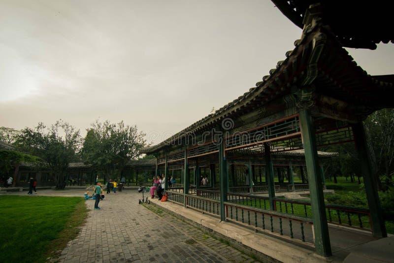 北京-公园在天坛 库存图片