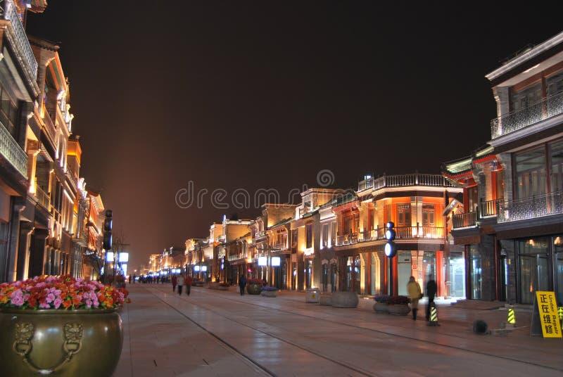 北京qianmen街道 免版税图库摄影
