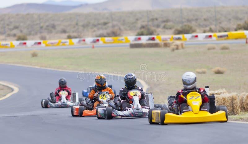北内华达Kart俱乐部赛跑 免版税库存图片