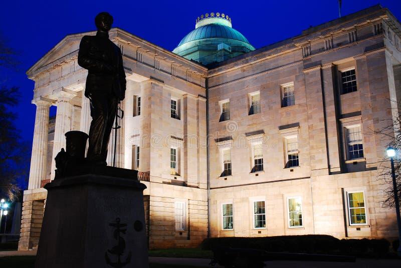 北卡罗来纳状态国会大厦,罗利 免版税库存图片