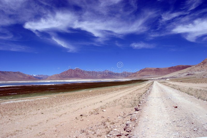 北印度的ladakh 免版税库存照片