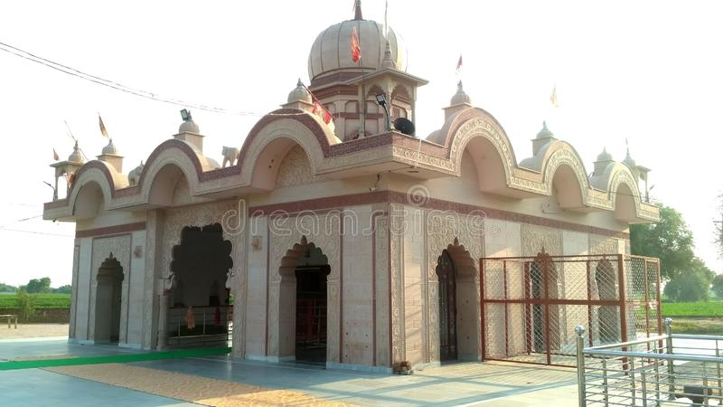 北印度语寺庙在印度 图库摄影