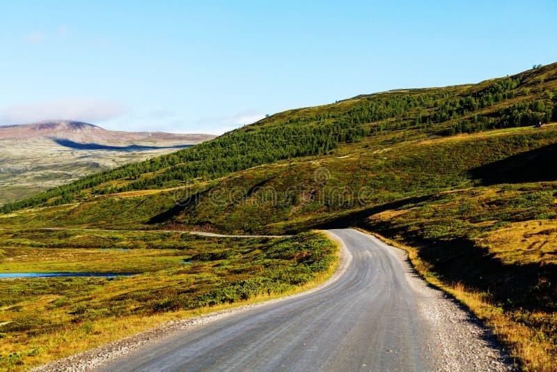 北挪威 免版税库存照片