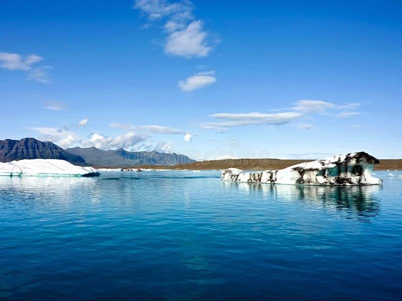 北极冰岛海运 库存图片