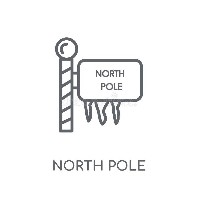 北极线性象 现代概述北极商标概念o 皇族释放例证