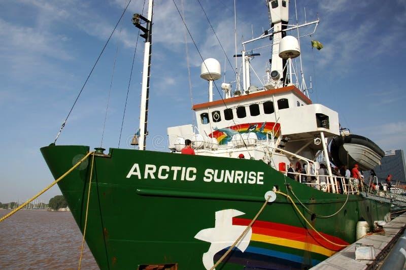 北极greenpeace suneise