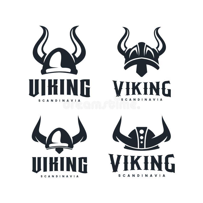 北欧海盗商标设计启发 有益于男性'事务:运输、发怒适合、健身房、比赛俱乐部等等-传染媒介 皇族释放例证