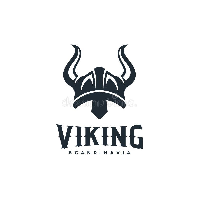 北欧海盗商标设计启发 有益于男性'事务:运输、发怒适合、健身房、比赛俱乐部等等-传染媒介 库存例证