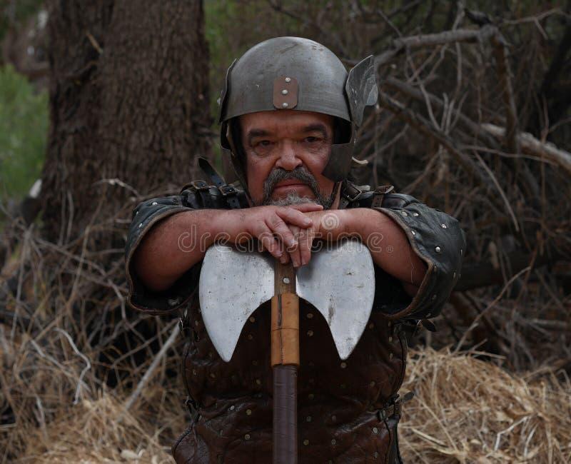 北欧海盗矮人 免版税库存图片