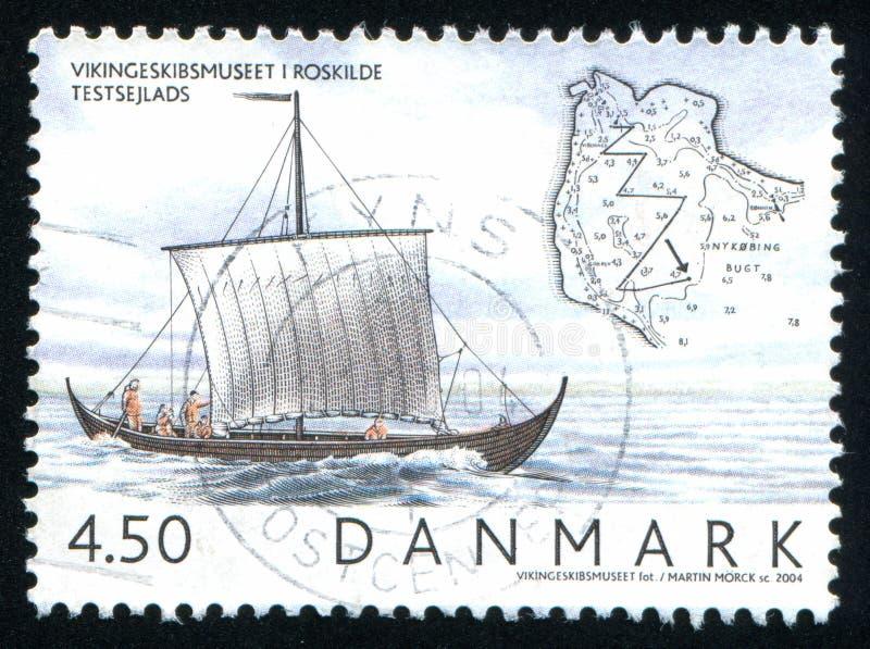 北欧海盗船博物馆罗斯基勒 库存图片