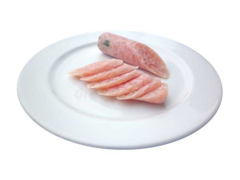北泰国食物, naem 免版税库存照片