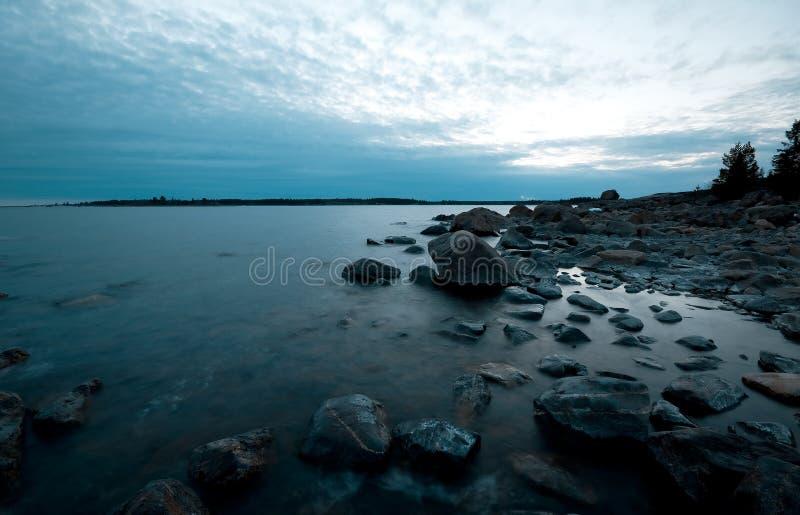 北海岸线 免版税图库摄影