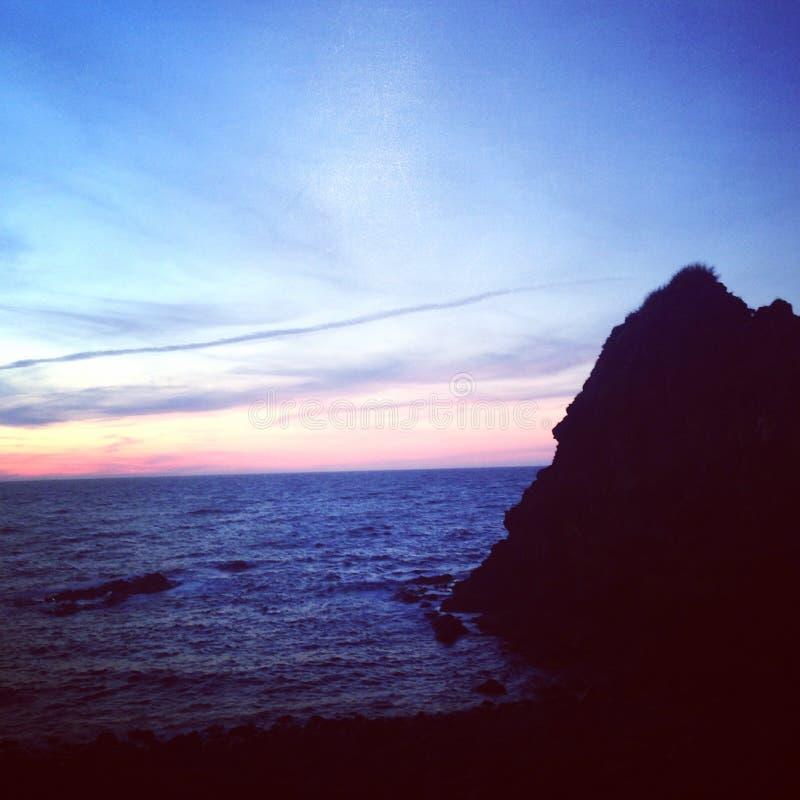 北海岸,北爱尔兰 库存图片