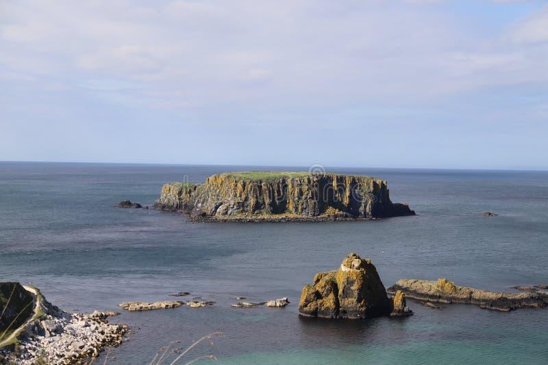 北爱尔兰海岸 库存照片