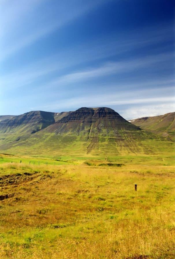 北的冰岛 库存图片